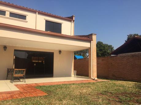 Alquilo Hermoso Duplex En El Condominio En Luque Amoblado 1300