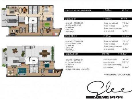 Malvin Preventa Exclusiva, 2 Dorm + 2 Baños + Terraza Unico!!
