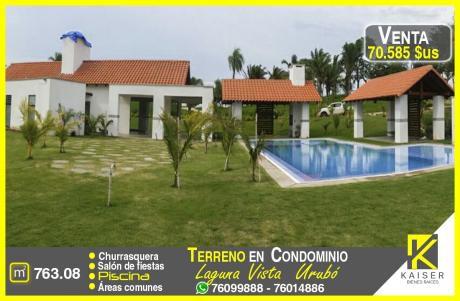 Hermoso Terreno En Condominio - Urubo