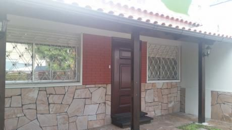 Preciosa Casa 3 Dorm, Jardín, Garage, Estufa Leña, Un Padrón