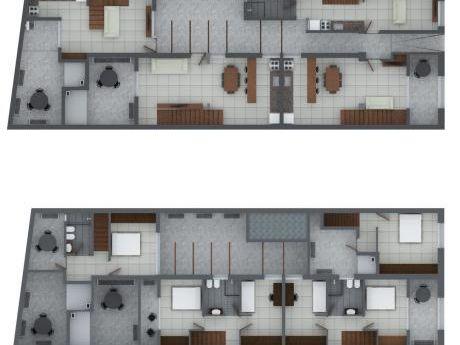 Duplex 2 Dormitorios Con Patio