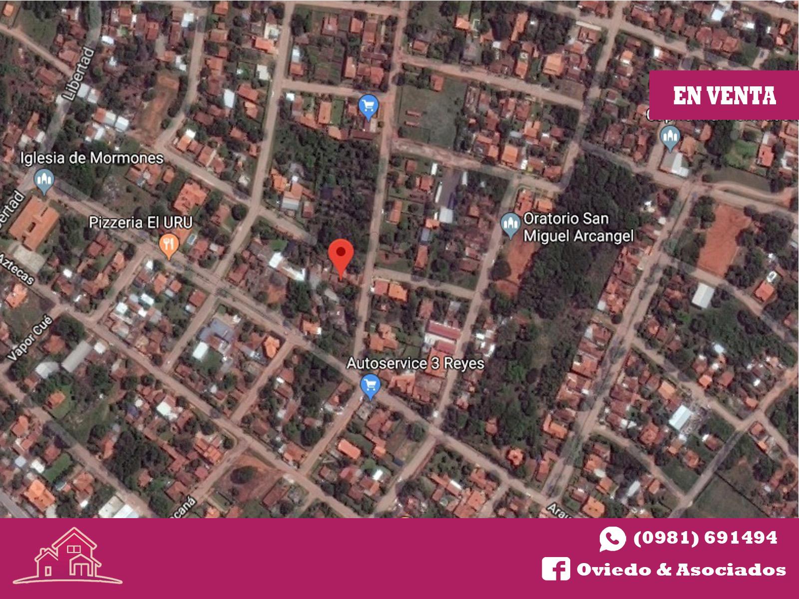 Vendo Terreno 660 M2. Barrio San Miguel – Luque