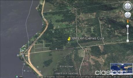 Paraiso En Sanber - Ciervo Cua - Vendo Lotes A 400 Mts Del Lago