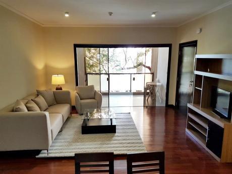 Alquilo Departamento Amoblado De 2 Suites En Villa Morra