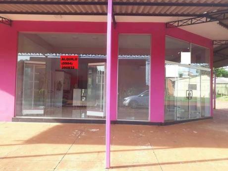 Alquilo Salon Comercial En Ciudad Del Este Km7