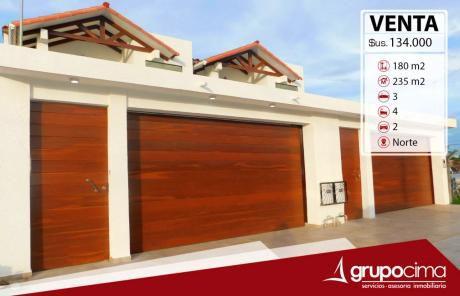Hermosa Casa En Venta 134.000 $us !!