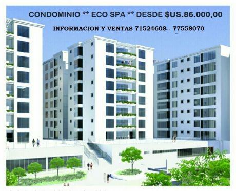 Departamentos En Preventa Condominio **eco Spa**