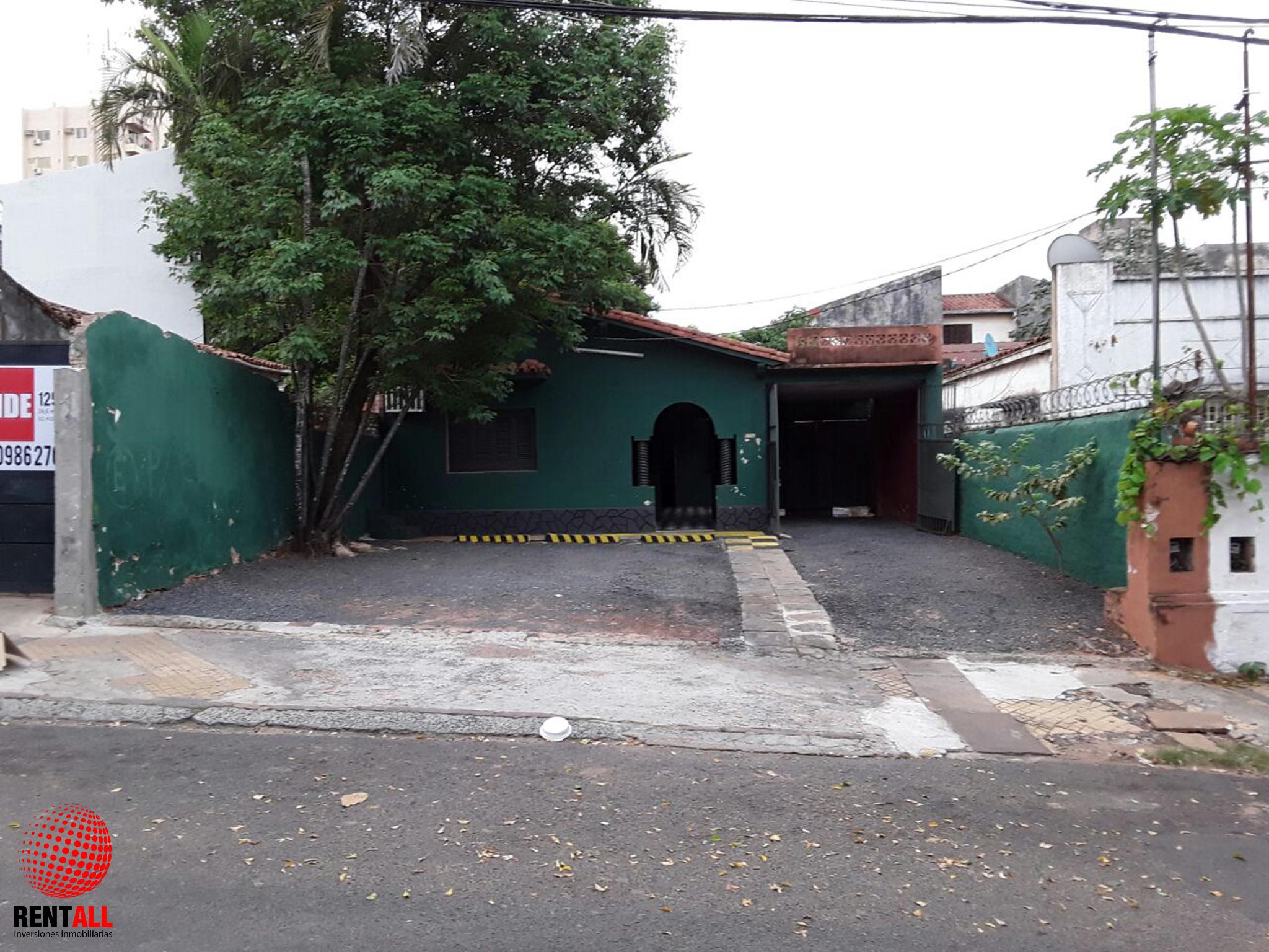 Vendo Terreno En El Centro De Asunción