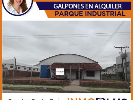 Galpon En Alquiler Parque Industrial