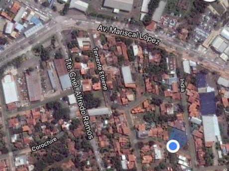 Vendo Terreno, Mcal Lopez Y Santa Teresa. Fernando De La Mora Zona Norte