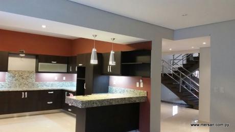 Hermosa Casa Tipo Duplex Con Piscina En Villa Adela - Luque (487)