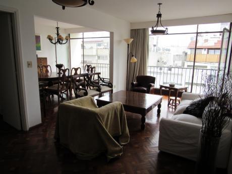 Apartamento De 3 Dormitorios En El Corazón De Pocitos