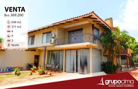 Amplia Y Lujosa Casa En Venta 369.200 $us