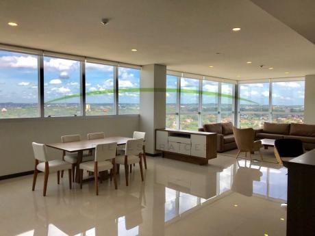 Alquilo Amplio Departamento Con Excelente Vista   Villa Morra
