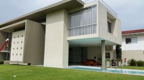Hermosa Casa Amoblada En Alquiler En Los Parques Del Urubo