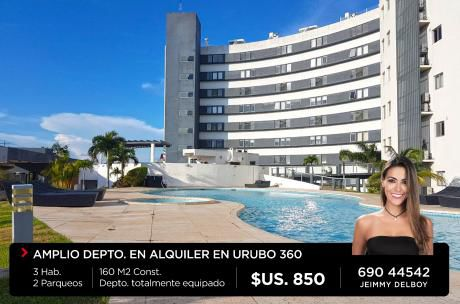 Departamento En Condominio Resort Vista Urubo 360