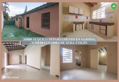 A0080 Alquilo Departamento, Barrio Sajonia