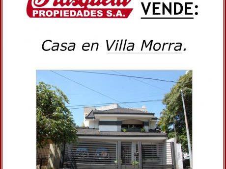 Vendo Casa En Villa Morra!