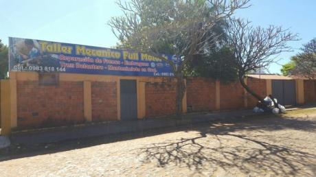 Terreno Con Pequeño Depósito, Fernando Zona Norte (23m De Frente)