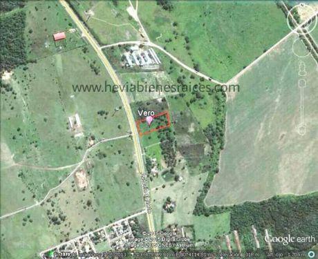 Vende Terreno Sobre Carretera Entre Warnes Y Montero