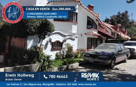 Hermosa Casa En Venta En Sucre