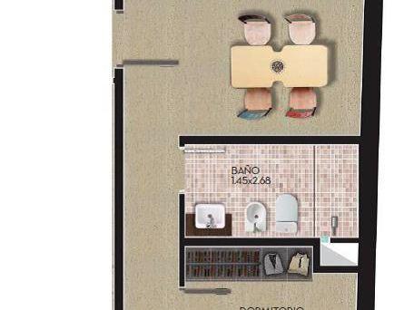 Apartamento 2 Dormitorios Al Frente En Cordón Sur