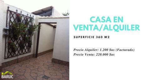 Casa En Alquiler / Venta