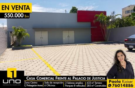 Centrica Casa Comercial Zona Palacio De Justicia