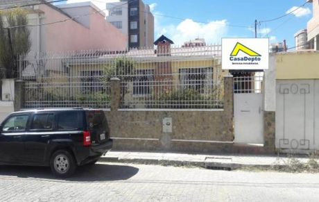 Casa En Alquiler, Zona De San Miguel, La Paz, Bolivia