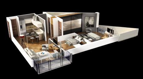 Un Dormitorio + Oficina B