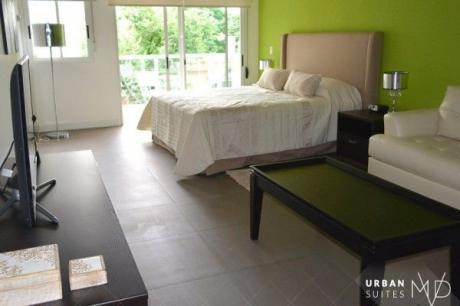Espectacular Monoambiente Amueblado, Con Servicios De Hotel