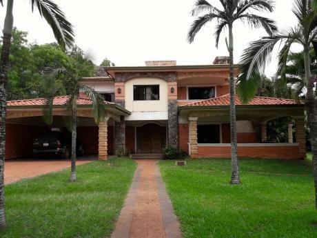Vendo Espectacular Residencia A Cuadras De La Avd. Mcal Lopez
