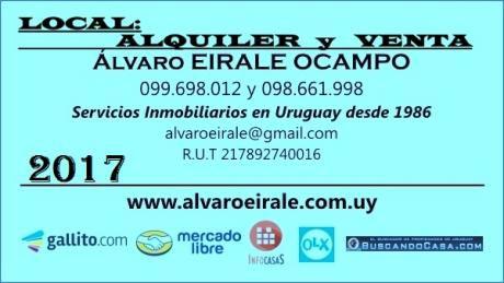 U120533 580.000= Benito Blanco Y Av. Brasil Local 225 M2*