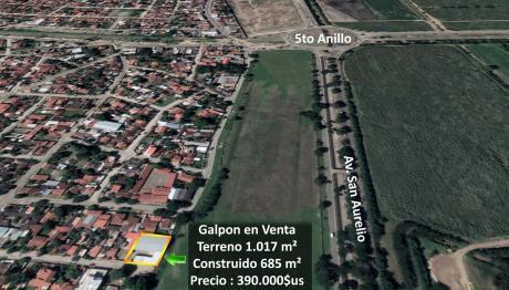 En Venta Galpon