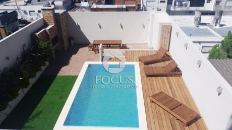 Imperdible  Unidad Piso 10 -  1 Dormitorio Con Terraza Exclusiva De 59m2 Y Box