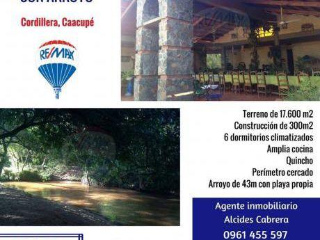 Oferta Hermosa Quinta En Caacupe