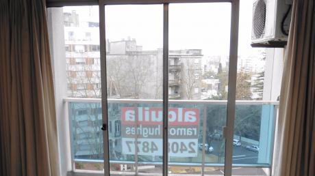 Alquiler De Apartamento De 1 Dormitorio Con Garaje En Pocitos