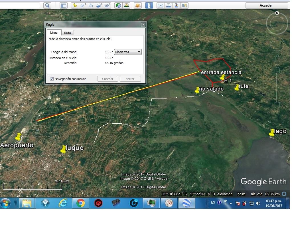 Estrategica Propiedad De 675 Has. A 22 Km Del Aeropuerto, 25 Km Del Sheraton