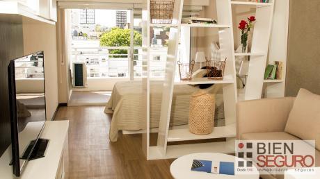 Apartamento Monoambiente A Estrenar En Alquiler En Pocitos