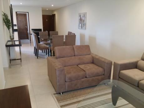 Alquilo Departamento De 2 Dormitorios Amoblado En Villa Morra