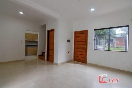 0862 Duplex A Estrenar En Lambare, Zona Carretera De López