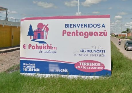 Terreno En  Pentaguazú 1 (360 M2)