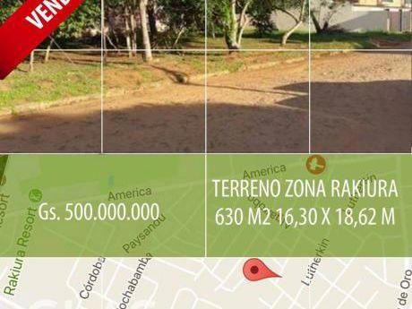 Vendo Terreno En Luque, Zona Rakiura