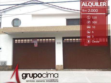 Amplia Casa P/empresa O Vivienda !!!