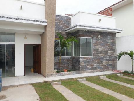 En Anticrético, Casa A Estrenar  Km 8 Al Norte Por La Chonta