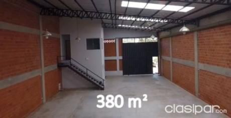 Alquilo Deposito A Estrenar De 360m2  Zona U.n.a, Mcal Lopez, Pinedo