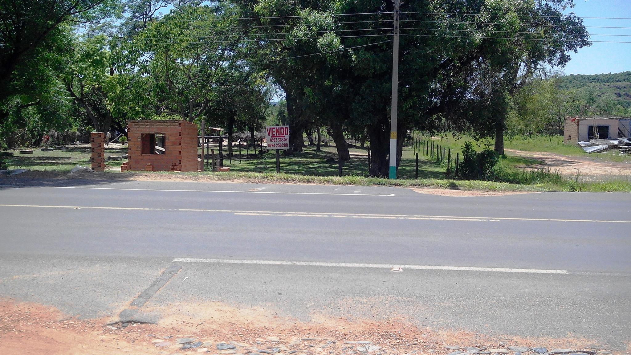 Vendo Terreno En Tobati -cordillera Sobre Ruta Principal
