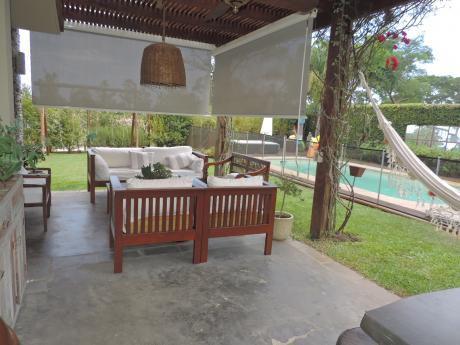 Divina Casa En Parque Miramar Prox. Lagos!  Piscina. Barbacoa.