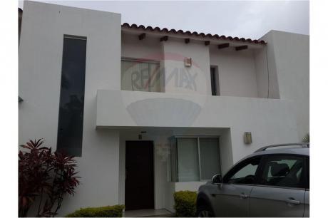 Hermosa Casa En Alquiler - Condominio Costa Blanca I