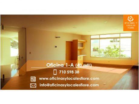 Alquiler De Oficina Nº 1-a (edificio Fiore) - Calle Batallon Colorados S/n
